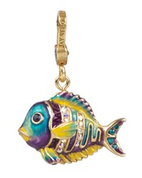 Linus Tropical Fish Charm Jay Strongwater Multi Colors