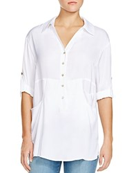 Miraclebody Jeans Miraclebody By Miraclesuit Trish Three Pocket Tunic White