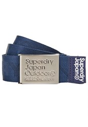 Superdry Jacquard Belt Navy