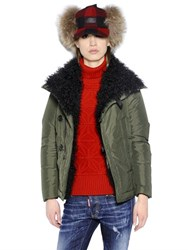 Dsquared Mongolia Fur Military Jacket