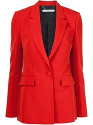 Givenchy Buttoned Blazer Red