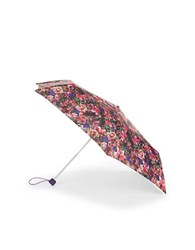 Fulton Superslim Number 2 Floral Umbrella Black