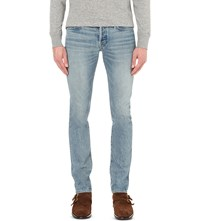 Tom Ford Slim Fit Tapered Jeans Lt Blue