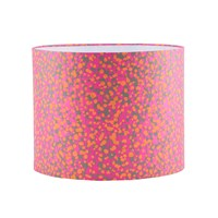Clarissa Hulse Garland Lampshade Neon Fluoro Orange Medium