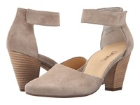 Paul Green Charmaine Taupe Suede High Heels