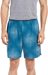 New Balance Men's 'Shift' Athletic Fit Print Training Shorts Castaway