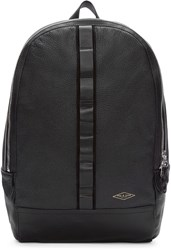 Rag And Bone Black Leather Derby Backpack