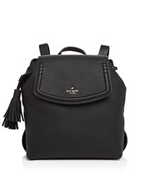 Kate Spade New York Orchard Street Selby Backpack Black Gold