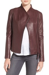 Mackage Women's Leather Jacket Merlot