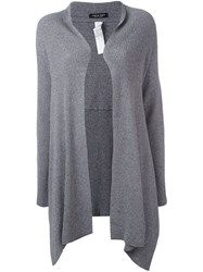 Twin Set Draped Cardigan Grey