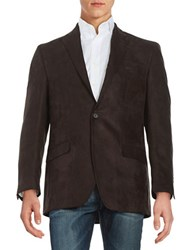 Lauren Ralph Lauren One Button Jacket Brown