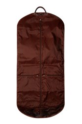 Jack Georges Voyager 49' Genuine Buffalo Leather Garment Cover Brown