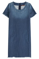 7 For All Mankind Seven For All Mankind Denim Dress Blue