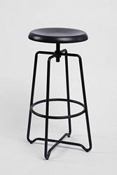 Urban Outfitters Adjustable Metal Stool Charcoal
