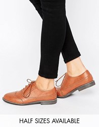 Asos Mayhem Brogues Tan Pu