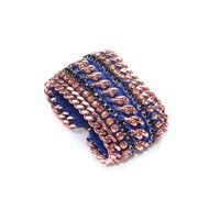 Miss High And Low Royal Gold Bracelet Gold Blue Rose Gold