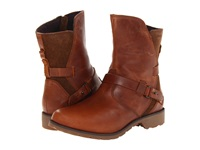 Teva De La Vina Low Bison Women's Zip Boots Brown