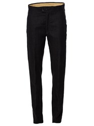 Ann Demeulemeester Slim Fit Trousers Black