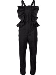 Chloe Ruffled Jumpsuit Black