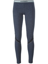 Diesel Sporty Leggings Grey