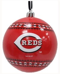 Memory Company Cincinnati Reds Ugly Sweater Ball Ornament
