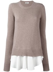 Dondup 'Anniston' Jumper Nude Neutrals