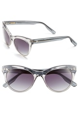 Jason Wu 'Jaclyn' 51Mm Sunglasses Light Grey Crystal