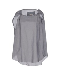 M.Grifoni Denim Topwear Tops Women Grey