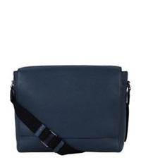 Mulberry Maxwell Messenger Classic Grain Leather Bag Blue