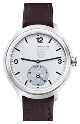 Men's Mondaine 'Helvetica' Smart Watch 44Mm