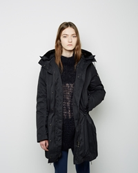Acne Studios New Powder Parka Black