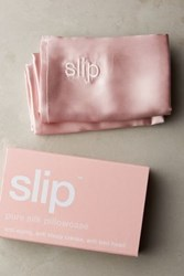 Anthropologie Slip Pure Silk Pillowcase Pink