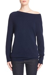 Equipment Women's 'Cody' Wool And Cashmere Boatneck Sweater Peacoat