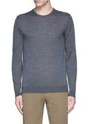 Altea Virgin Wool Sweater Grey