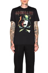 Givenchy Cuban Fit Army Skull Tee In Black