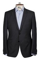 Richard James Contemp Pic N Pic Sb2 Jacket Charcoal