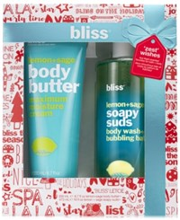 Bliss 2 Pc. Zest Wishes Body Butter And Soapy Suds Set No Color