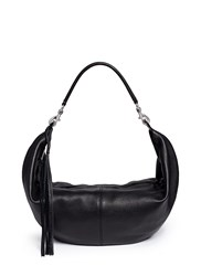 Rebecca Minkoff 'Julian' Half Moon Hobo Crossbody Bag Black
