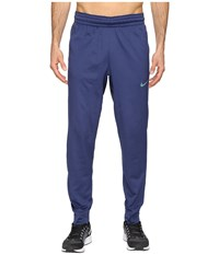 Nike Elite Basketball Pant Obsidianheather Obsidian Iridescent Men's Casual Pants Blue