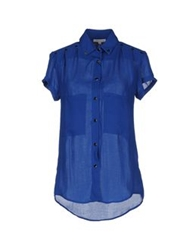 Surface To Air Short Sleeve Shirts Blue