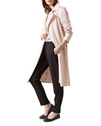 Hobbs London Lavina Trench Coat Frost Pink