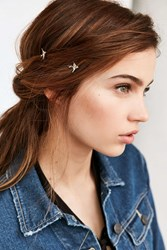 Urban Outfitters Sparrow Duo Bobby Pin Set Silver