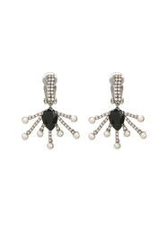 Vickisarge Cosmos Crystal Star Earrings