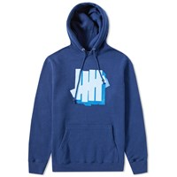 Undefeated Shadowed Strike Pullover Hoody Blue
