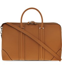 Givenchy Grained Leather Weekend Holdall Hazel