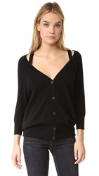 Theory Saline B. Cashmere Sweater Black