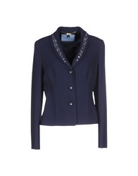 Blumarine Suits And Jackets Blazers Women Dark Blue