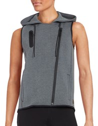 New Balance Athletic Asymmetrical Vest Black
