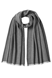 Jil Sander Scarf With Virgin Wool And Cashmere Grey