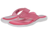 Ryka Roanoke Hot Pink Candy Pink White Women's Sandals